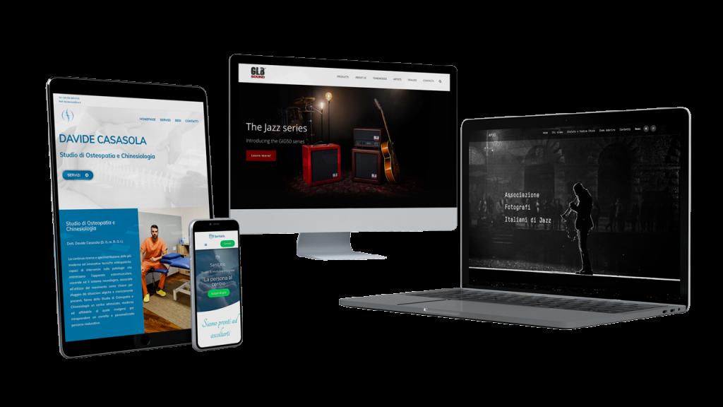 Web Agency Udine Siti Web Eidos Marketing Mockups